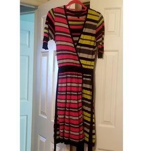 BCBG Wrap Style Dress